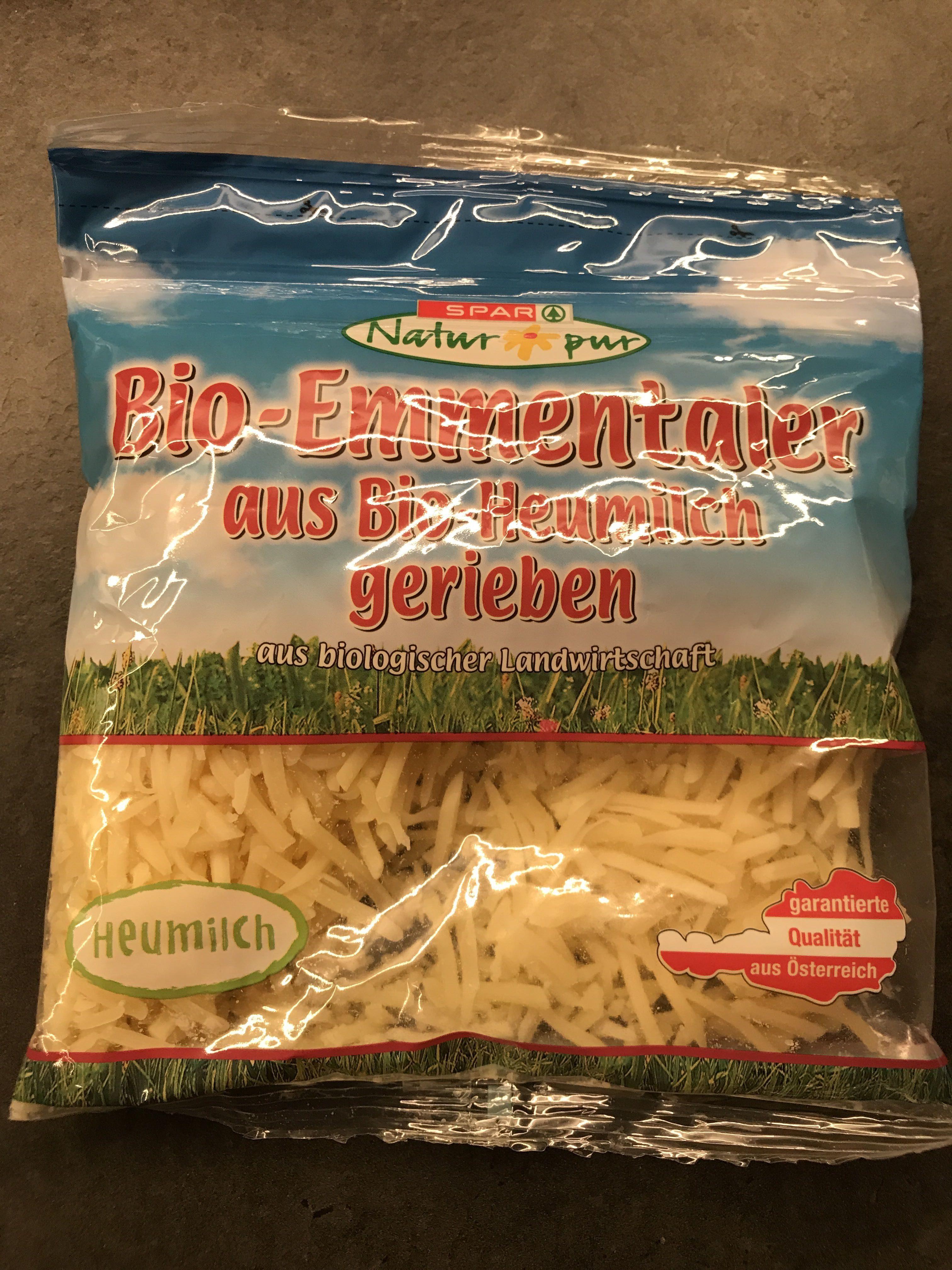 Bio-Emmentaler aus Bio-Heumilch gerieben - Produit
