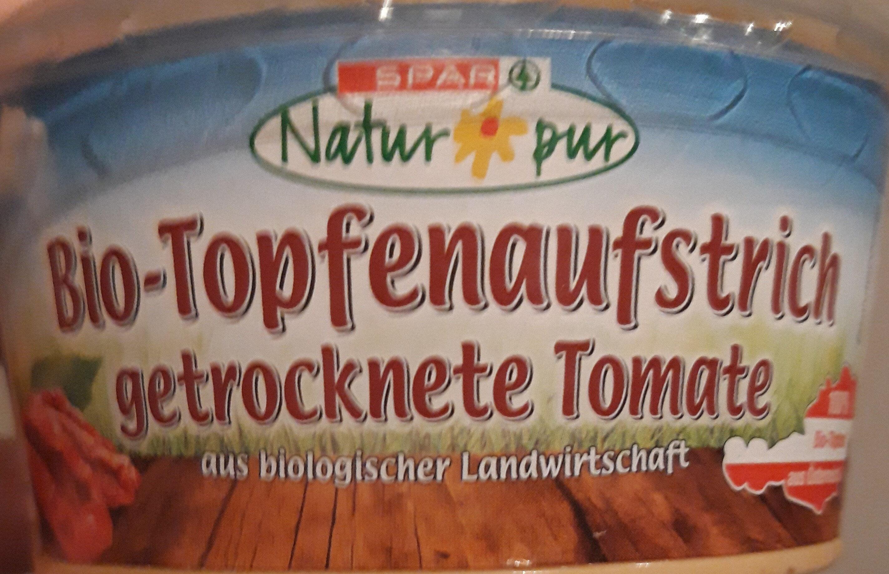Bio-Topfenaufstrich getrocknete Tomate - Produit - de