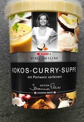 Kokos-Curry-Suppe mit Portwein verfeinert - Produit