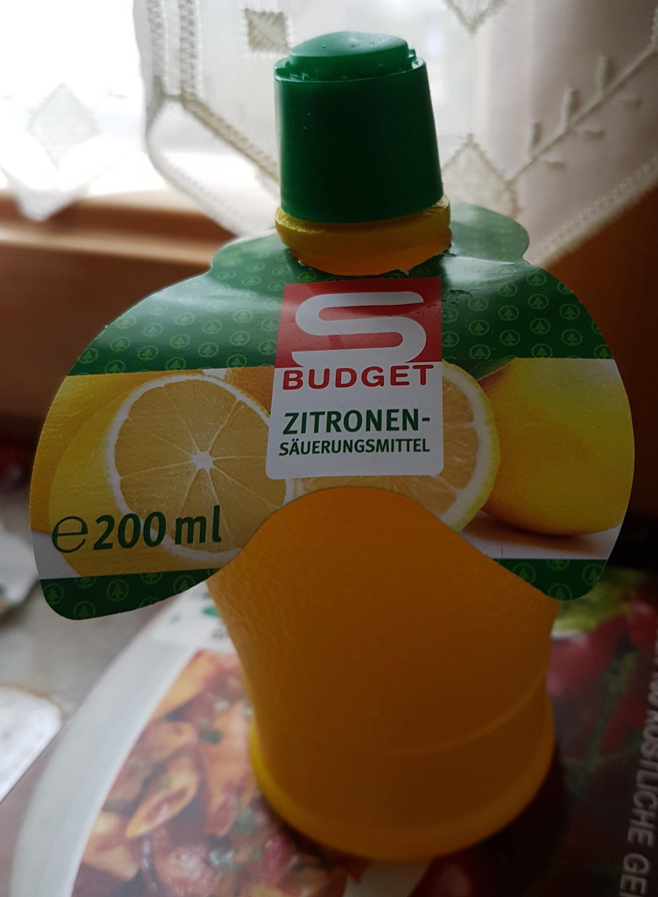 Zitronen-Säuerungsmittel - Product