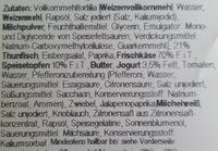 Thunfisch-Wrap - Ingrédients