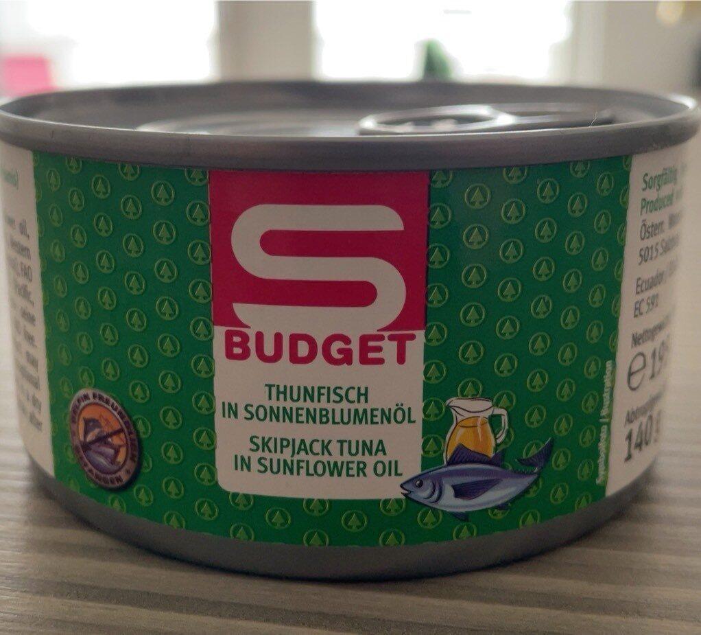 Thunfisch in Sonnenblumenöl - Produkt - de