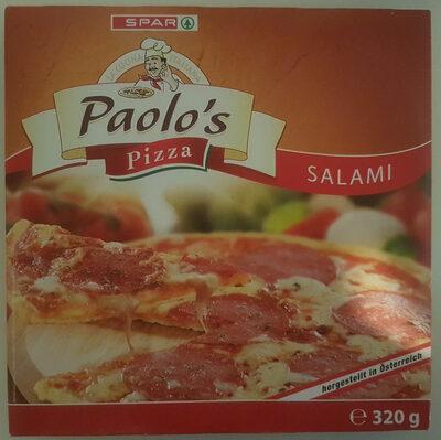 Paolo's Pizza Salami - Produit - de