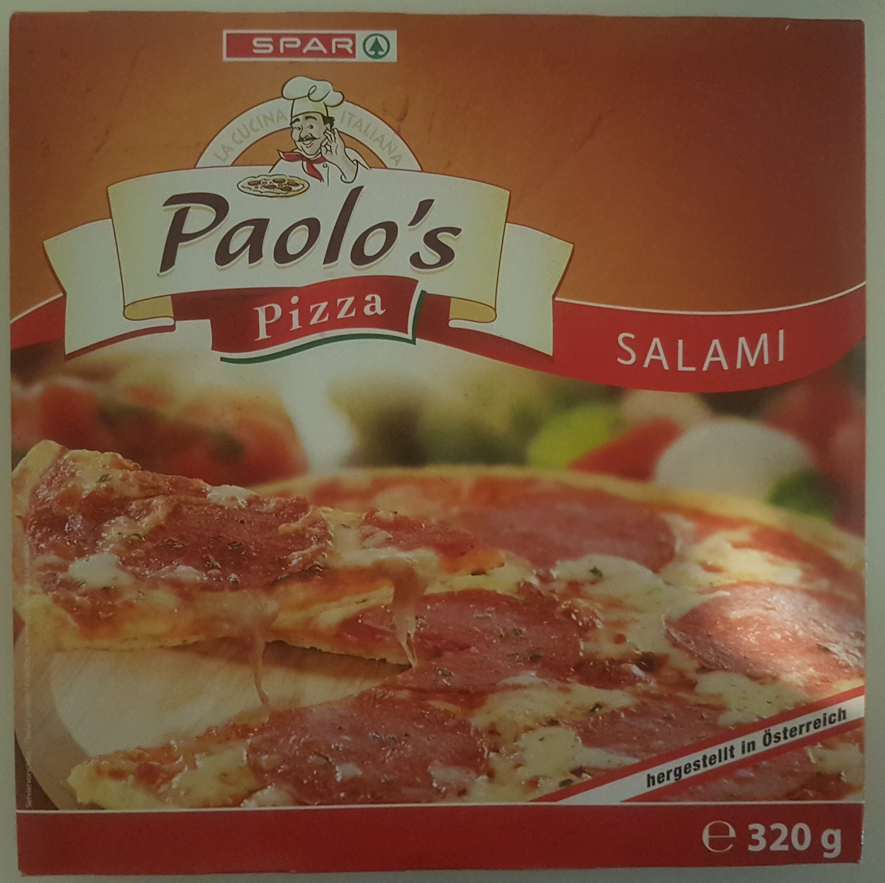 Paolo's Pizza Salami - Product - de