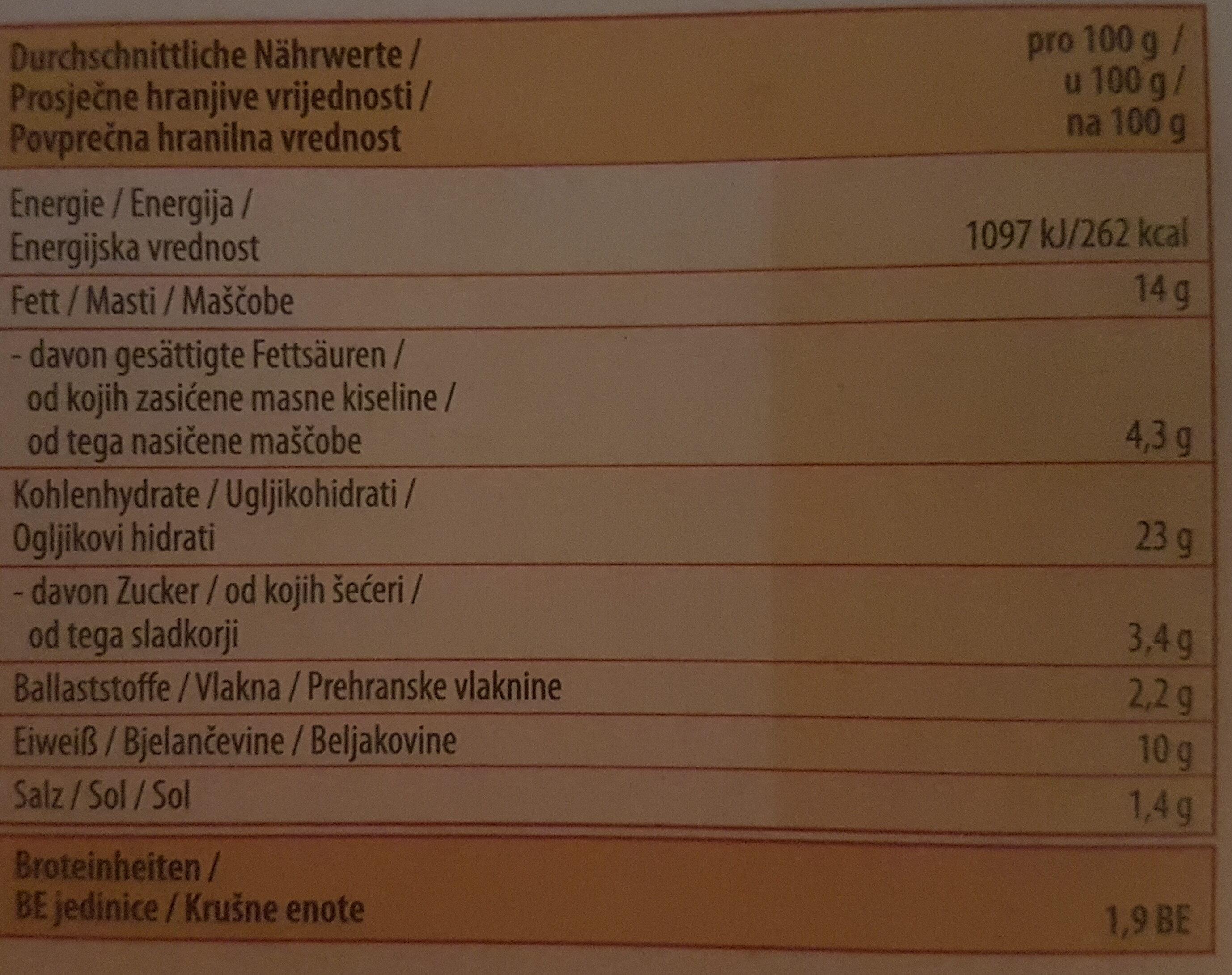 Paolo's Pizza Salami - Informations nutritionnelles - de