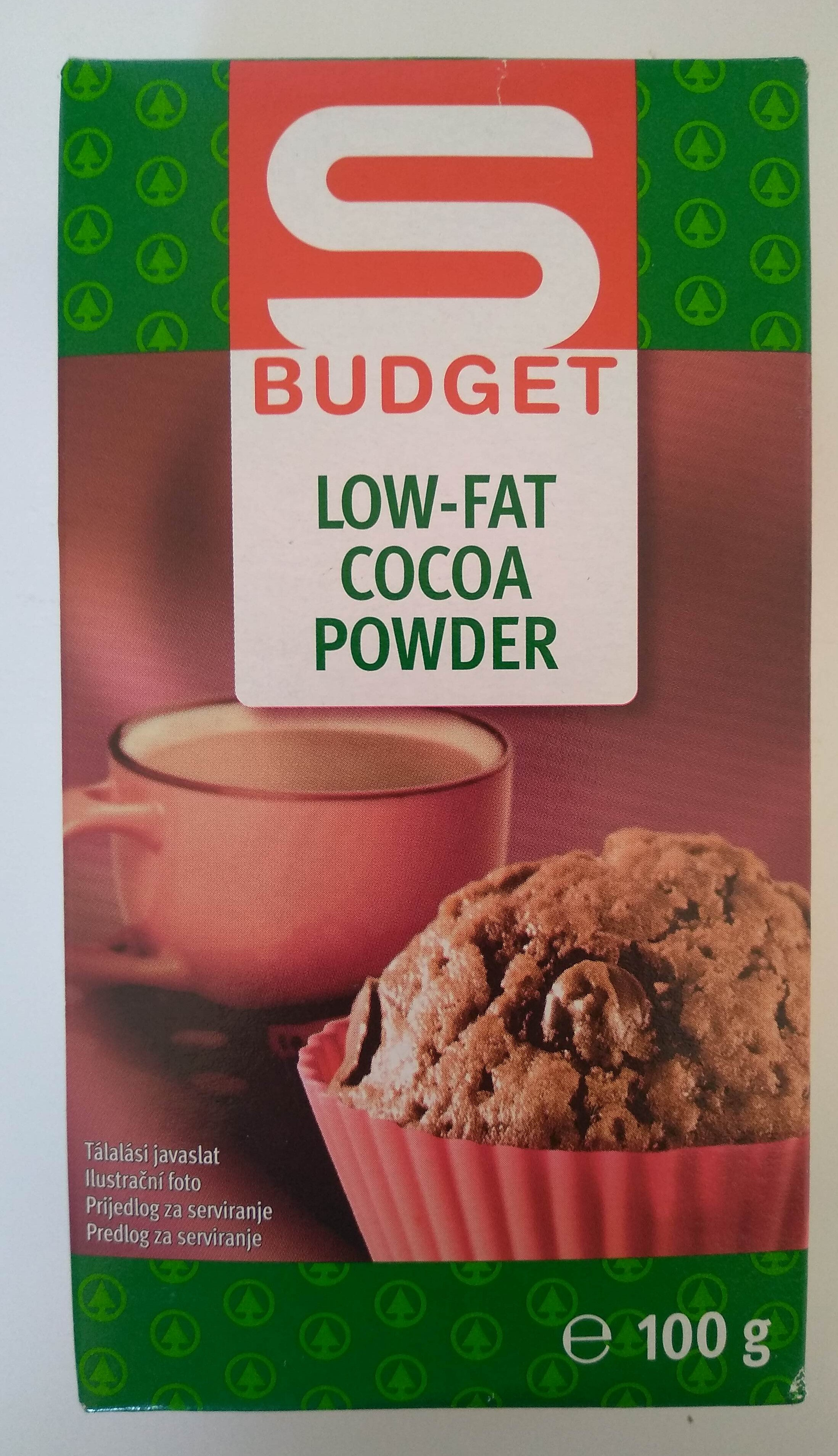 Low-fat cocoa powder - Produit - hu