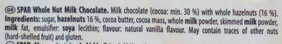 Whole Nut - Ingredients - en