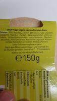 Vegane Guacamole  Avocado Dip - Ingrédients - de