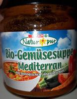 Bio-Gemüsesuppe Mediteran - Produit - de