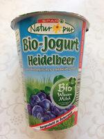 Bio-Jogurt Heidelbeer - Product - en