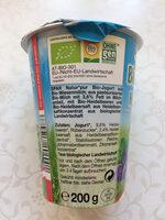 Bio-Jogurt Heidelbeer - Nutrition facts - en