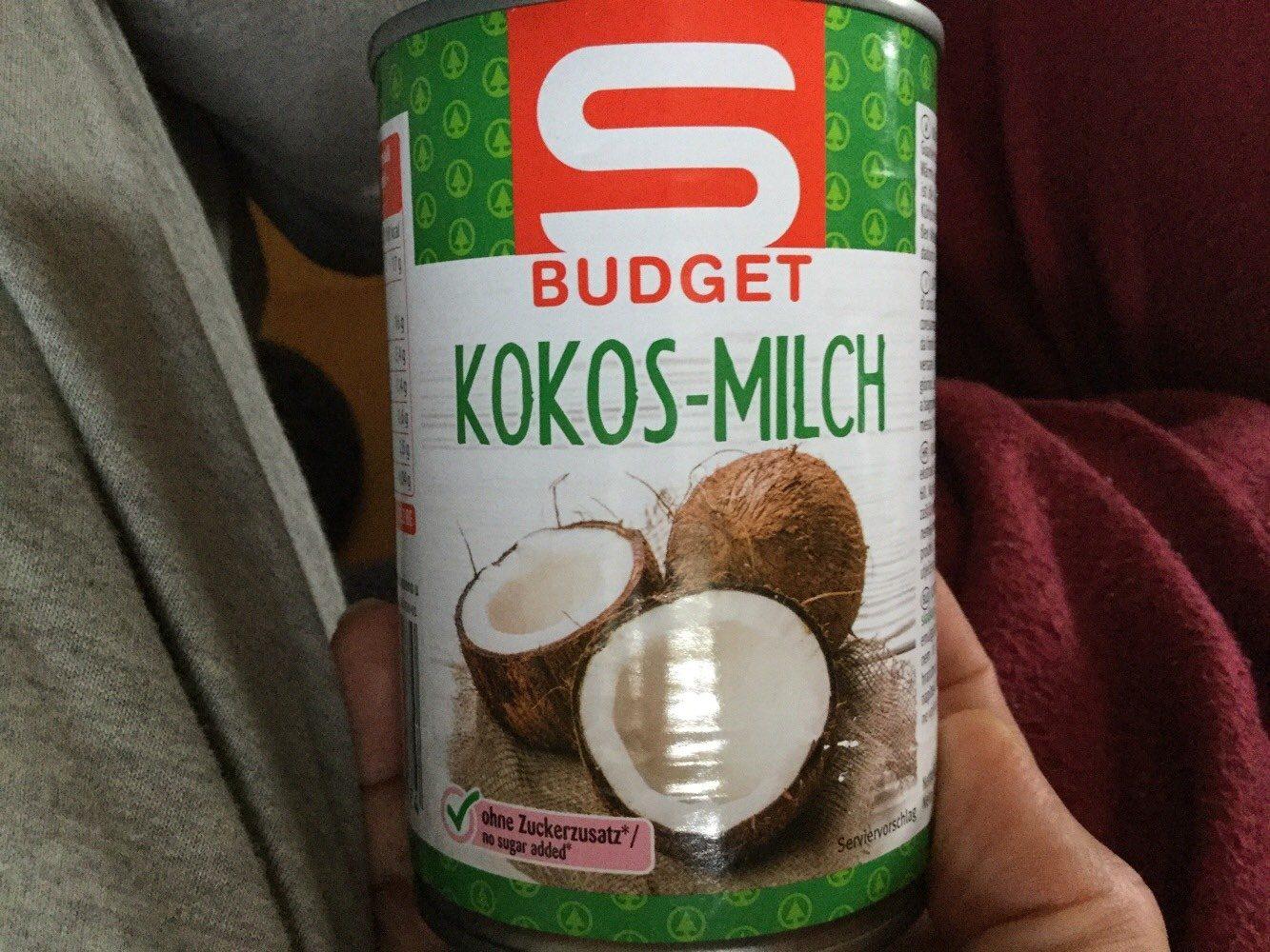 Kokos-Milch S-Budget - Produkt - en