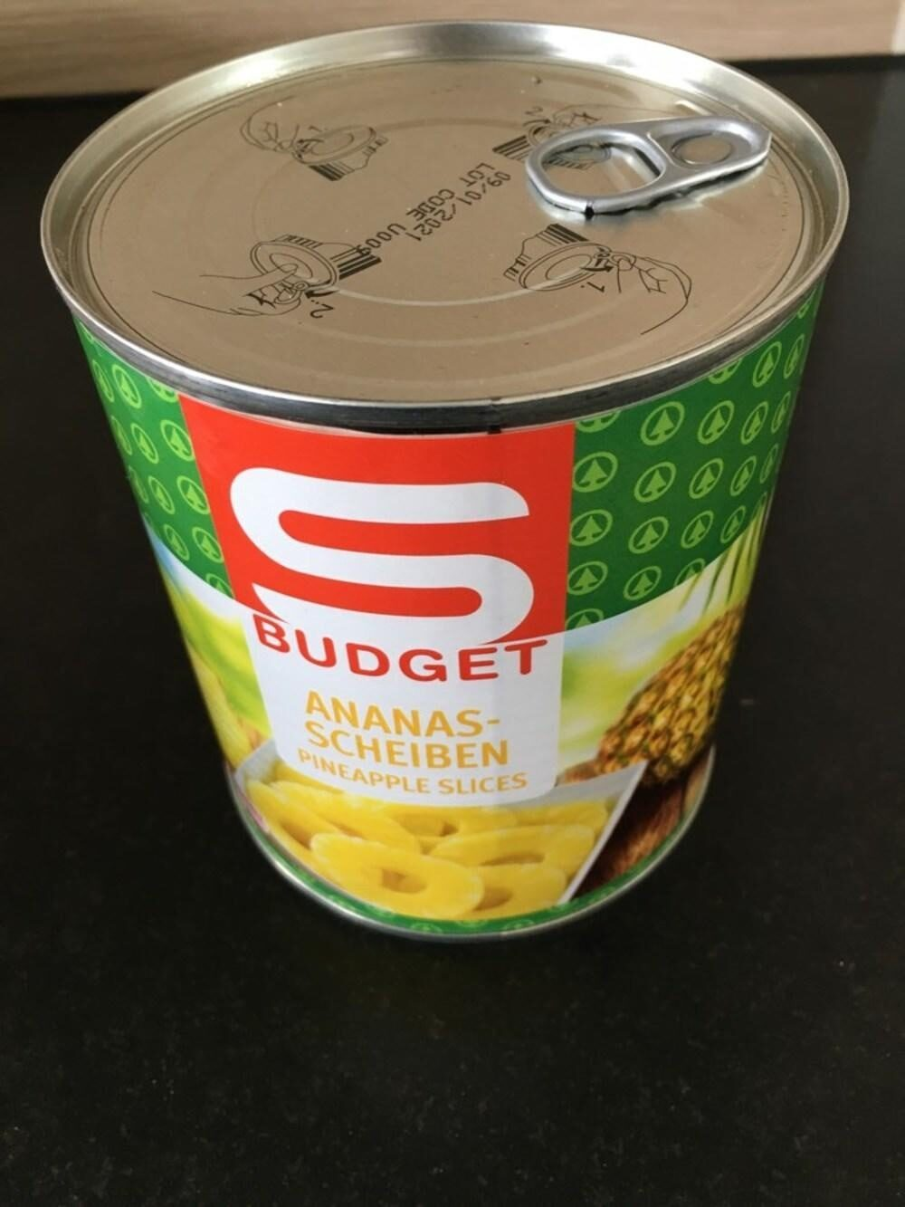 Ananas-Scheiben - Product - en