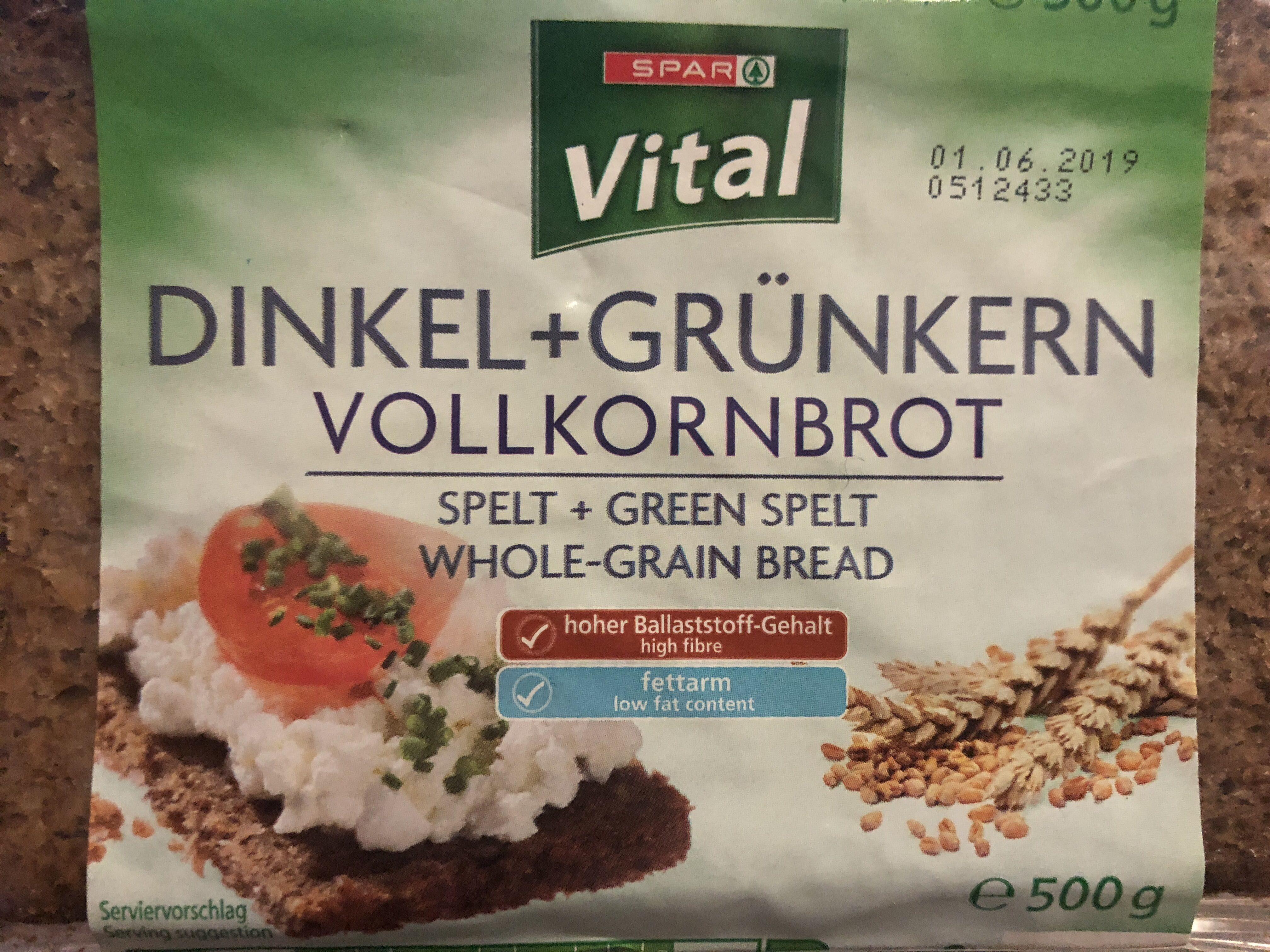 Whole-grain bread - Product - en