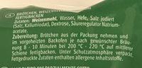 6 Brötchen - Ingredients