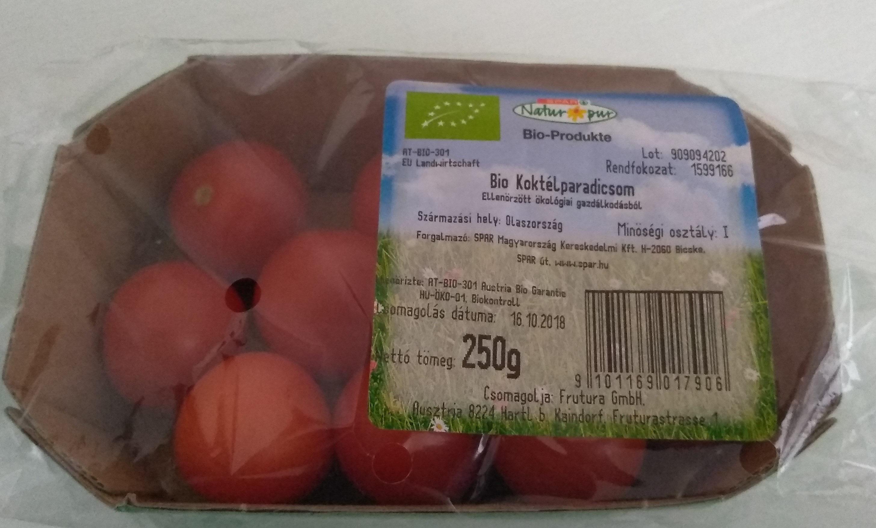 Bio koktélparadicsom - Produit