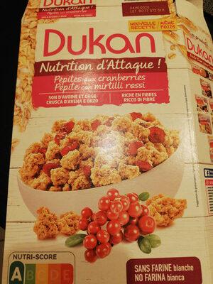pépites aux cranberries - Product - en