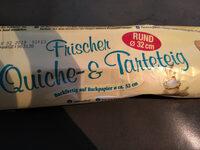 Frischer Quiche- & Tarteteig - Produit - de