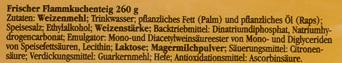 Frischer flammkuchenteig - Ingrediënten