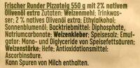Runder Pizzateig - extra dick - Ingrédients - de