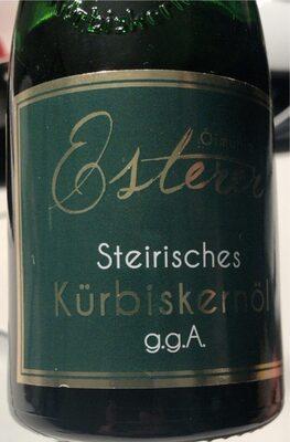 Steirisches Kürbiskernöl - Prodotto - de