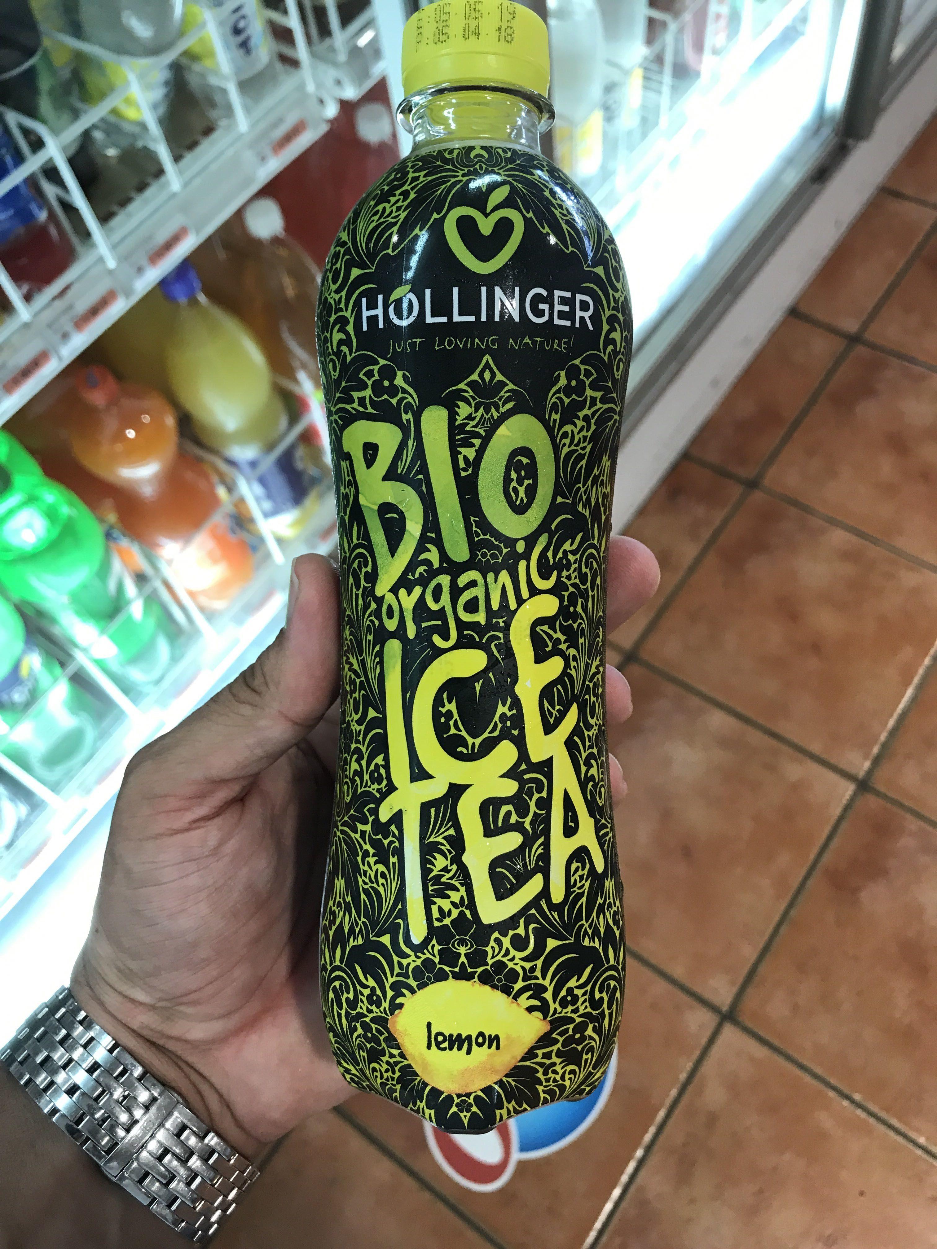 Höllinger Eistee Zitrone, 0,5 LTR Flasche - Product