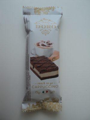 Bakery d'Oro Pandispan cu cacao umplut cu crema de lapte si cappuccino - Produkt - ro