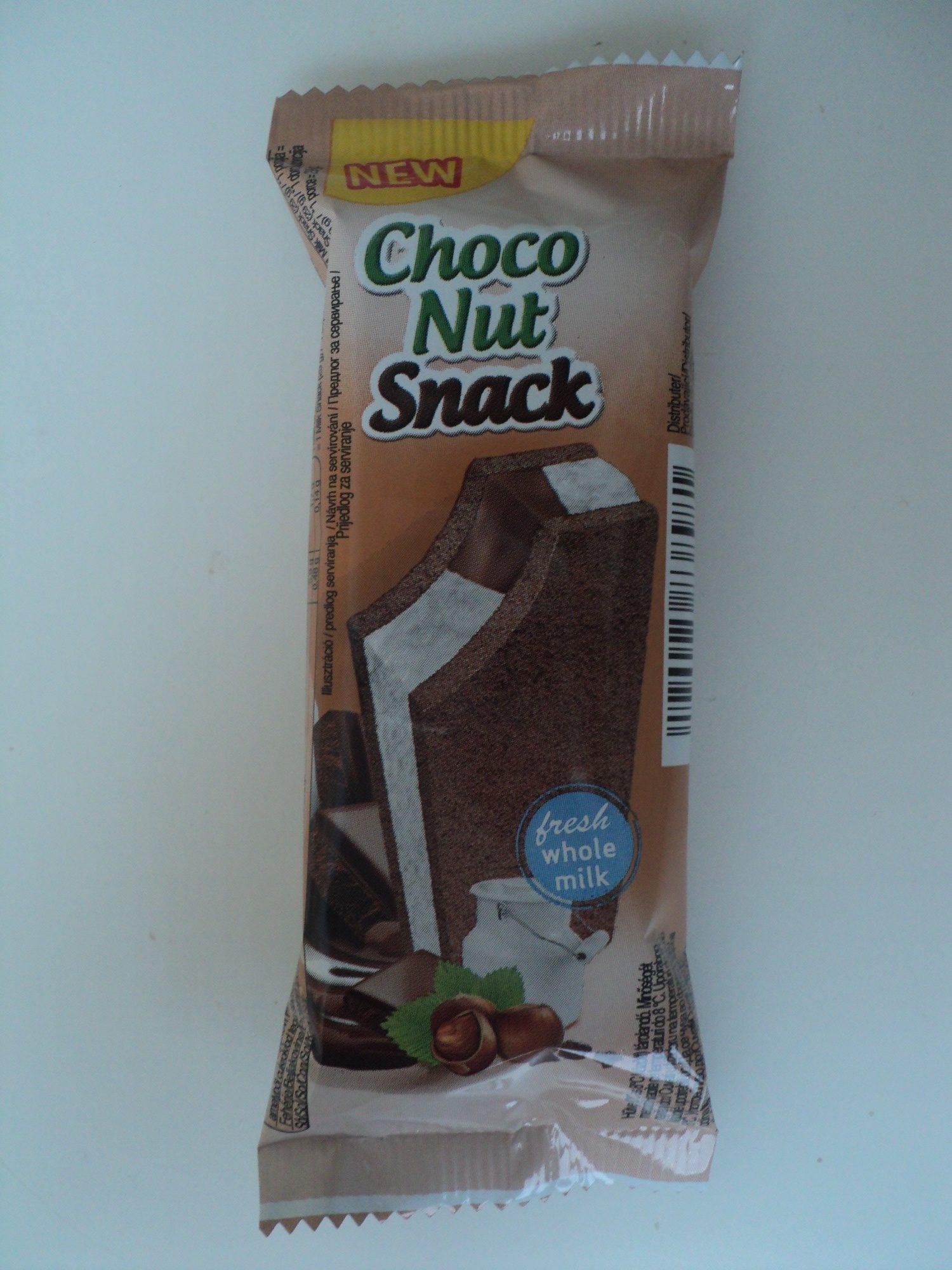 Choco Nut Snack cu lapte si crema de cacao-alune - Produit