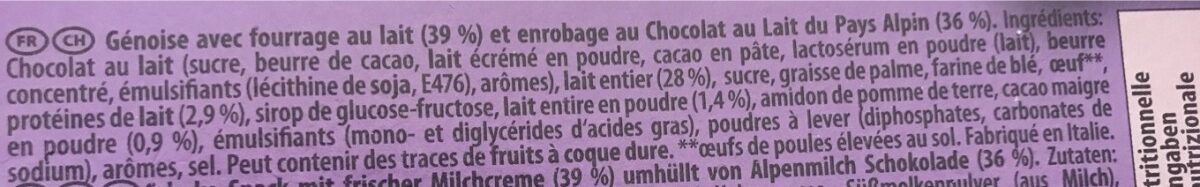 Choco Snack - Ingrediënten - fr
