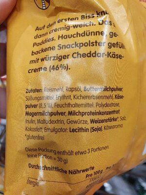 Cheesetastic - Ingredients - de
