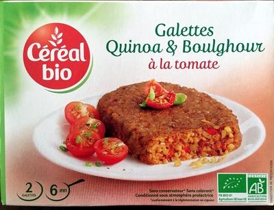 calorie Galettes Quinoa & Boulghour à la tomate