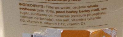 Australian Grown whole organic soybeans - Ingredients - en