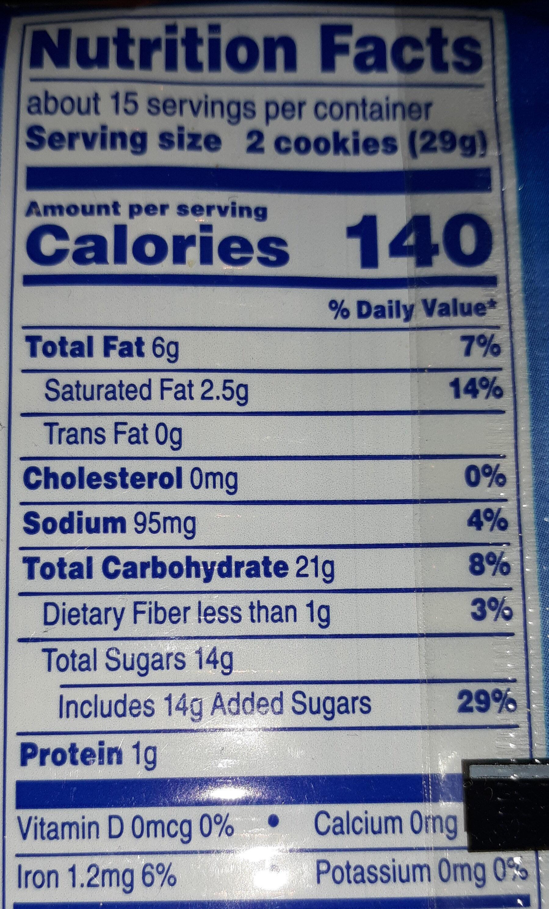 Kaleidos - Nutrition facts - en