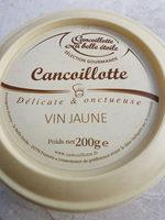 Cancoillotte au vin jaune - Produit