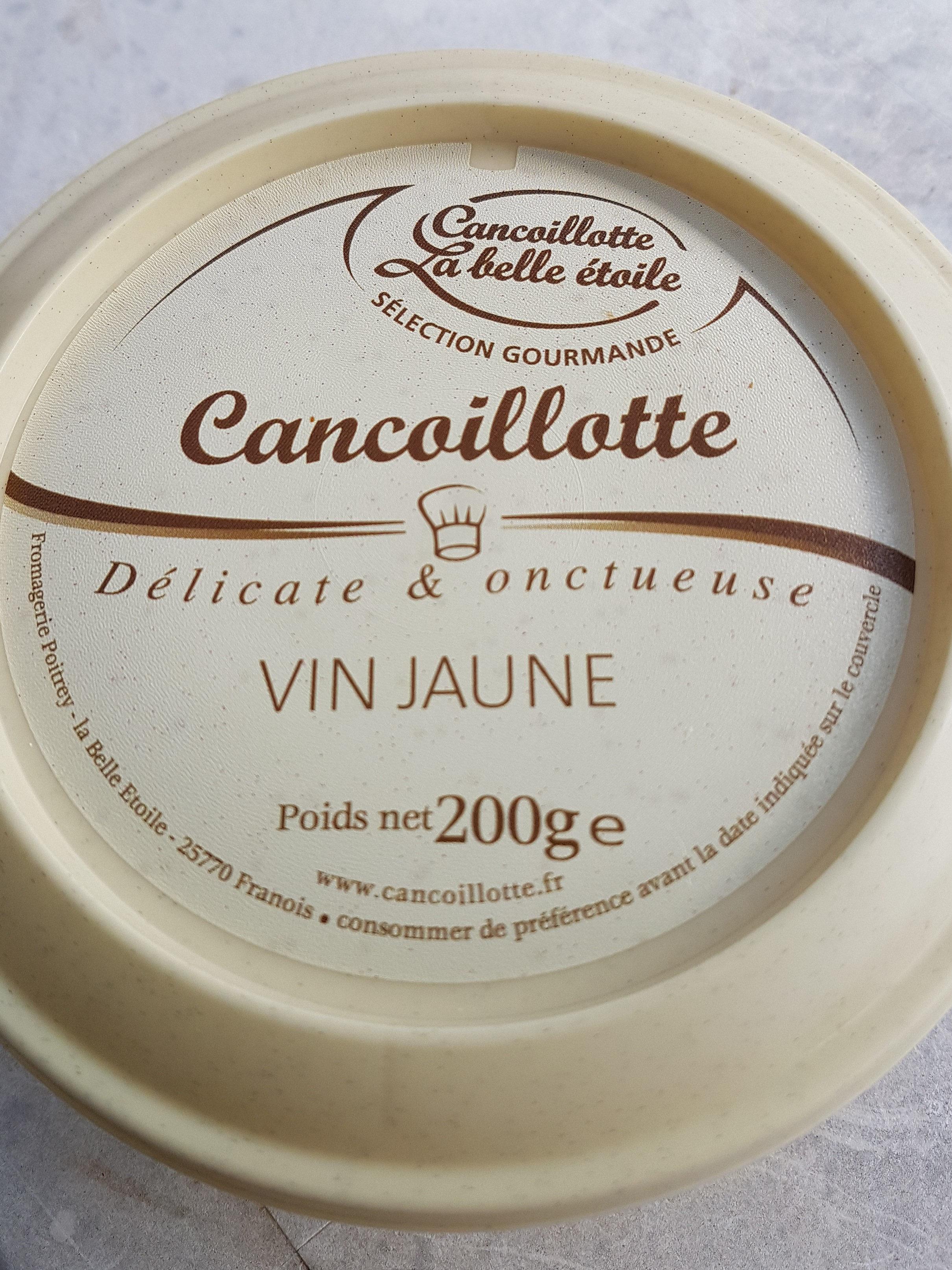 Cancoillotte au vin jaune - Produit - fr