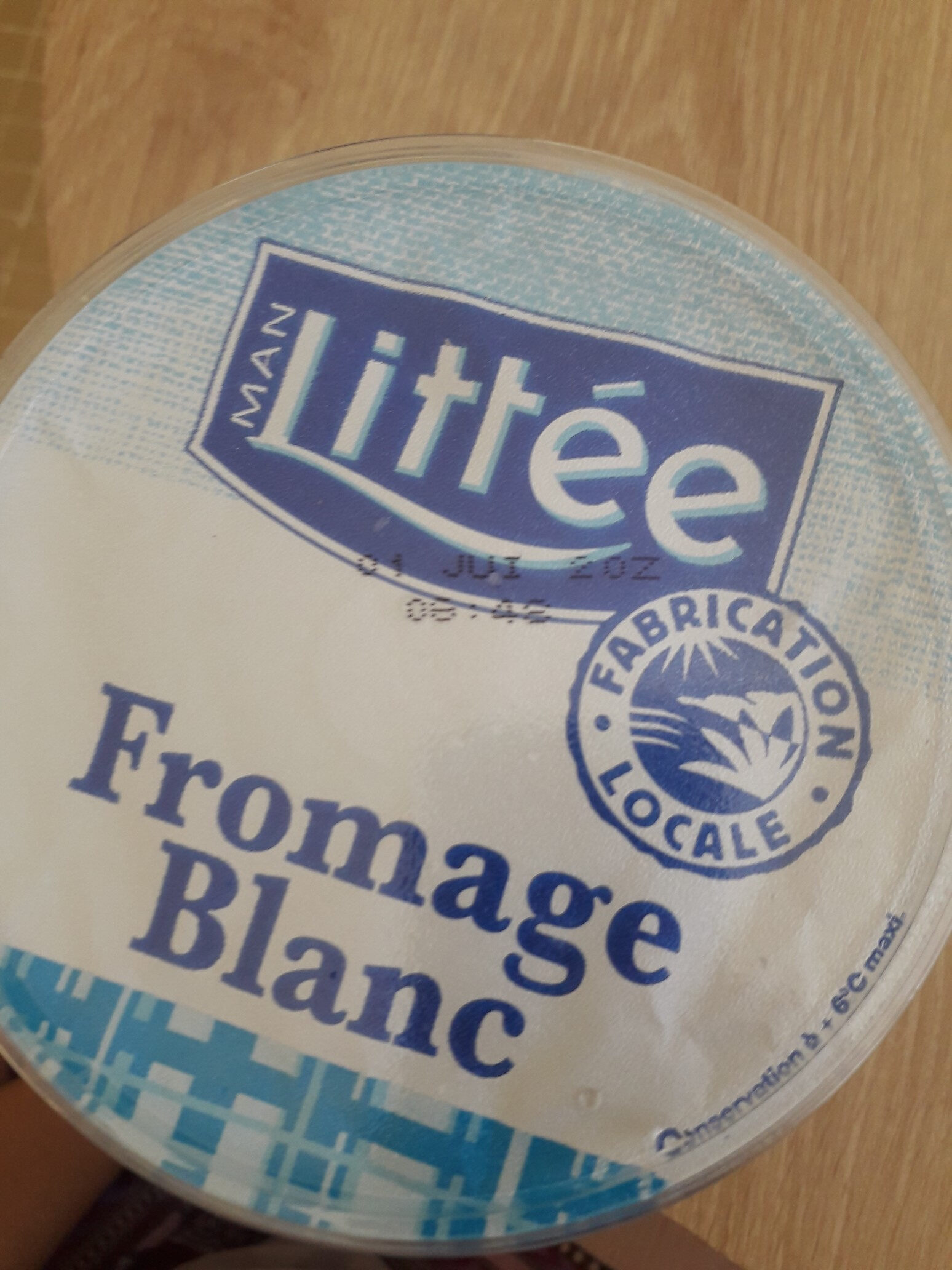 fromage blanc maigre nature - Prodotto - fr