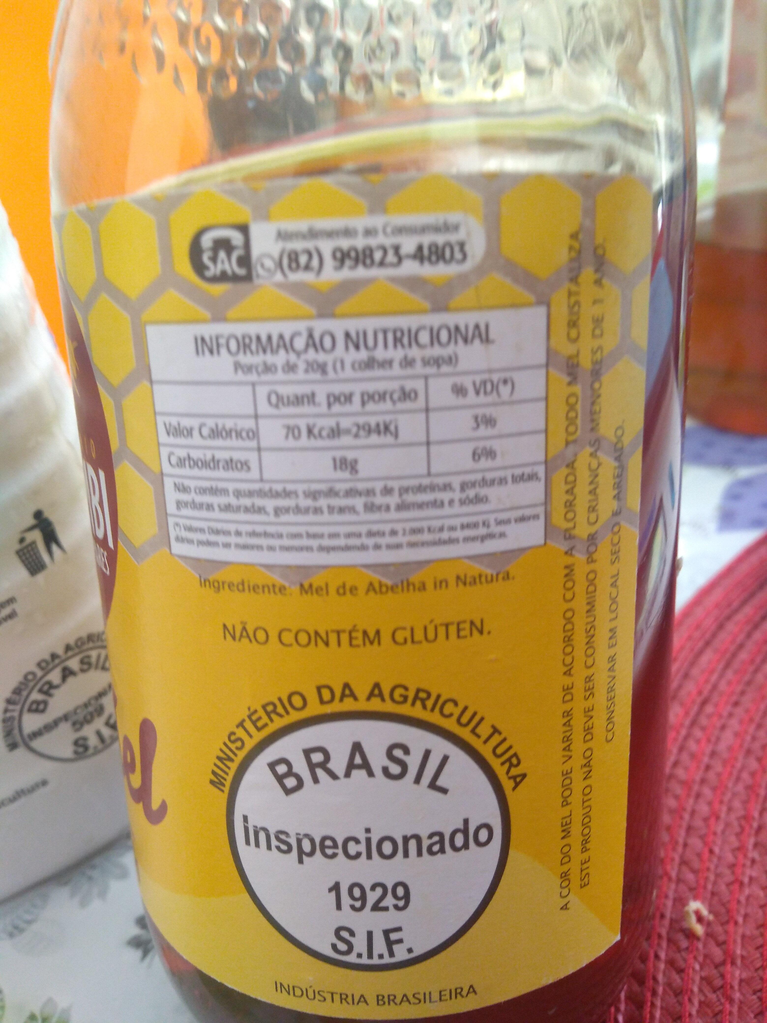 mel - Ingredientes - pt