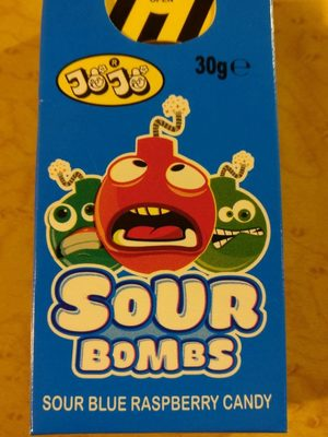 Sour bombs - Product