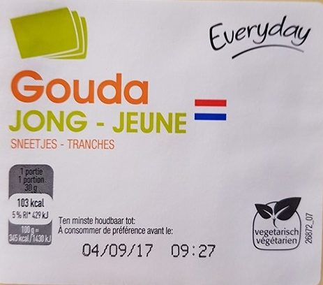 Gouda Jeune - Prodotto - fr