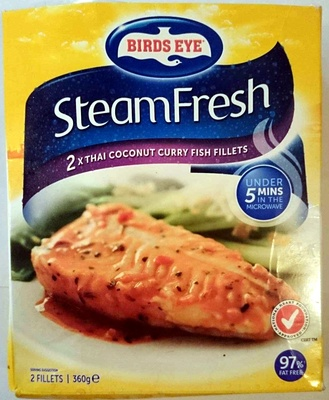 Steam Fresh 2x Thai Coconut Curry Fish Fillets - Product - en