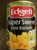 Super sweet Corn kernels - Product