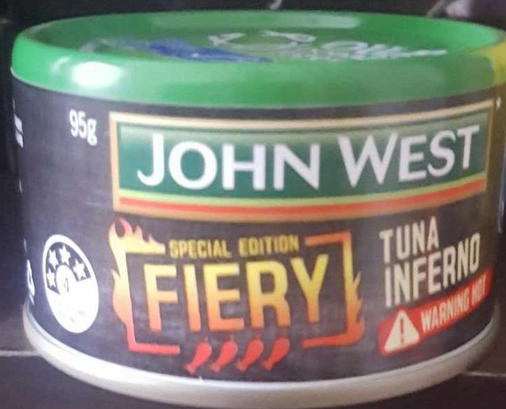 John West Tuna Inferno - Product - en