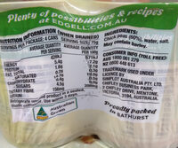 Chick Peas 4 Pack - Nutrition facts