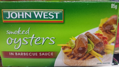 John West Smoked Oysters in Barbeque Sauce - Product - en