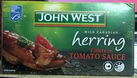 Wild Canadian herring fillets in tomato sauce - Product - en