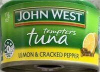 Lemon & Cracked Pepper Tuna - Product - en