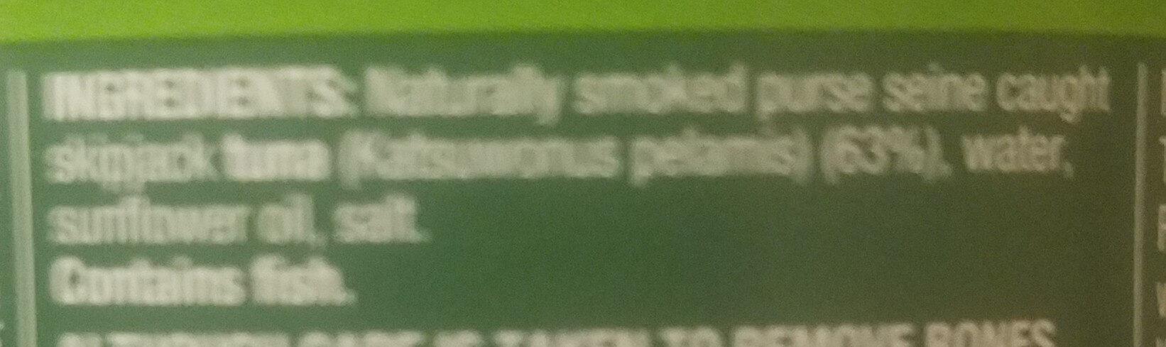 Tuna Tempters - Naturally Smoked - Ingredients - en