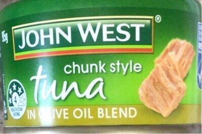 Tuna in olive oil blend - Produit - en