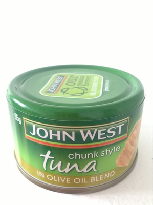 Chunk style tuna in olive oil blend - Product - en