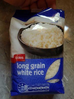 Long Grain White Rice - Product